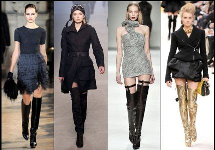 new fashion style thigh high boot trend for fashion