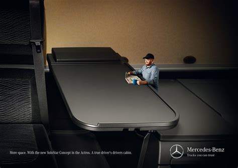more room mercedes solostar table gute werbung