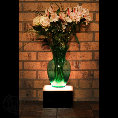 Led Display Stand 8 Quot X 8 Quot X 5 Quot Lighted Glass Art Display
