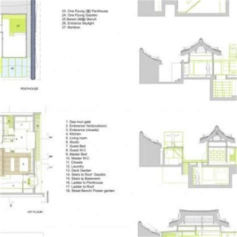 hanok floor plan 24 best floor plans images on pinterest korean