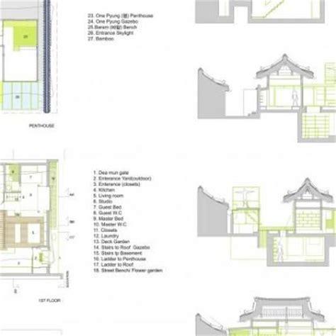 hanok house floor plan 17 best images about floor plans on pinterest modern