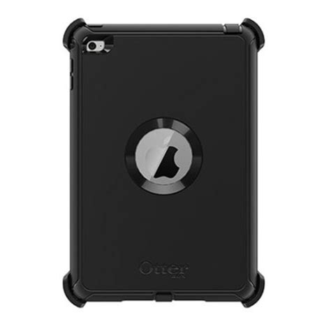 Defender For Apple Mini 4 Black otterbox defender series mini 4 black mobilezap australia