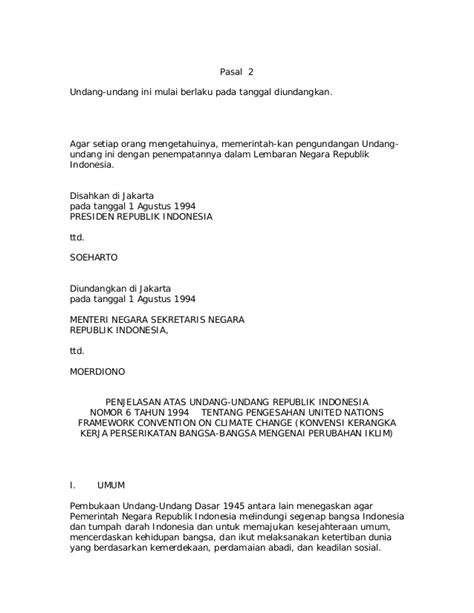 Undang Undang Republik Indonesia No 11tahun 1994 Tentang Ppn Ppn Bm undang undang no 6 tahun 1994 tentang perubahan iklim
