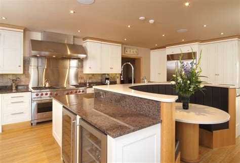 Handmade Kitchens Sheffield - painted kitchen collection the traditional