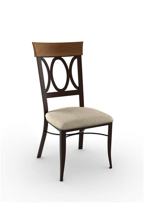 Cargo Dining Chairs Amisco Dining Chair W Metal Legs Vintage Free Shipping