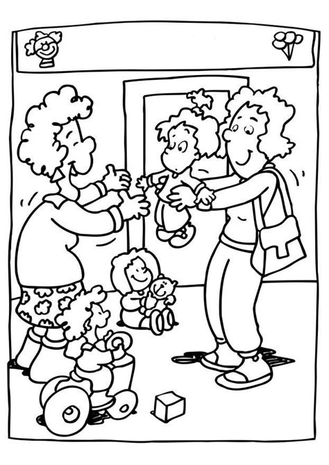 coloring pages for nursery class coloring page nursery class img 6518