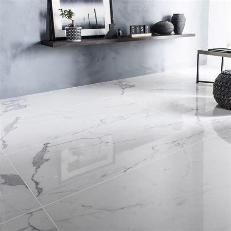 Carreaux De Marbre by Carrelage Sol Et Mur Blanc Effet Marbre Rimini L 60 X L