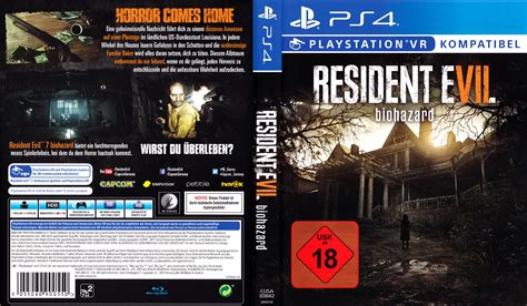 Ps4 Resident Evil 7 R2 resident evil 7 biohazard dvd cover label 2017 german ps4