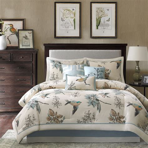 madison park 7 piece comforter set madison park quincy 7 piece comforter set khaki