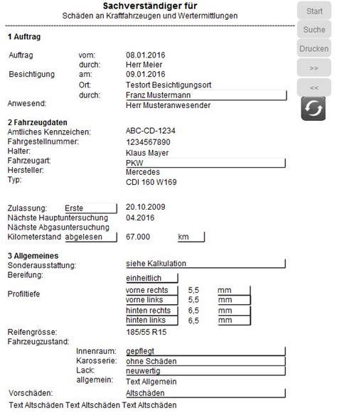 Motorrad Gutachter Hamburg by Sachverst 228 Ndigensoftware Gutachtersoftware Kfz