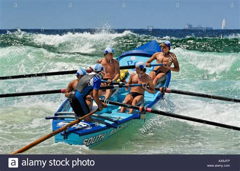 rowing boats australia quot surf life saving rowing boat on wave at a surf carnival