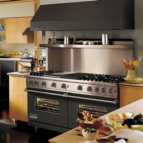 Black Kitchen Ideas Viking Custom Series 60 Quot Black Freestanding Gas Range