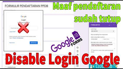 menutup google form fs mag