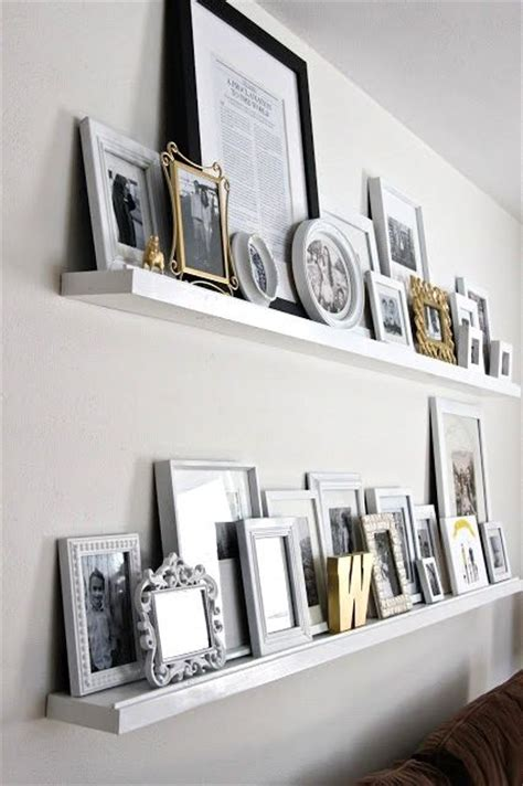 Gallery Wall Shelf by Best 25 Gallery Wall Shelves Ideas On Wall Ledge Picture Ledge Shelf And Photo