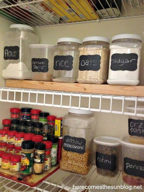 Cheap Kitchen Canisters by How To Organize Your Pantry