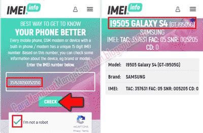 Stiker Imei Handphone All Type 4 cara cek tipe hp samsung mengecek lewat kode apps sticker web