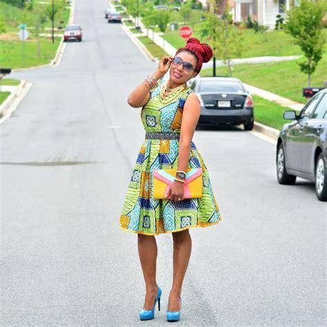 image for ankra skater dress style sleeveless skater dress ankara wear ideas pinterest