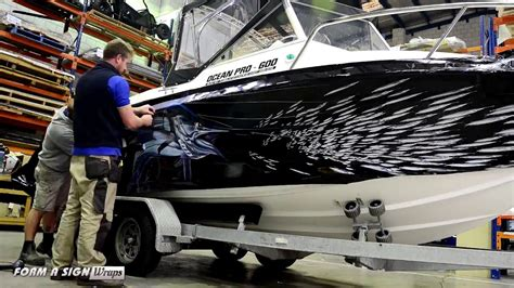 bass pro ocean boats bass straight ocean pro wrap youtube
