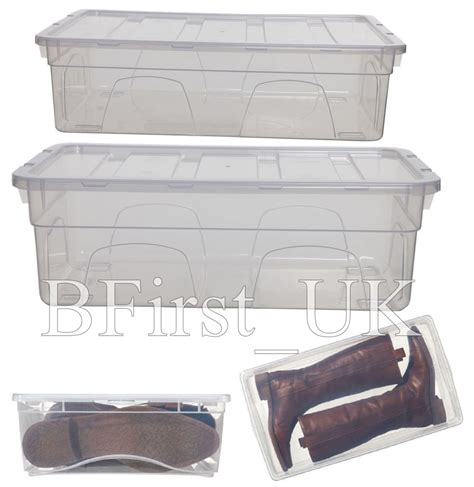plastic shoe storage boxes with lids transparent clear plastic shoes organiser storage box