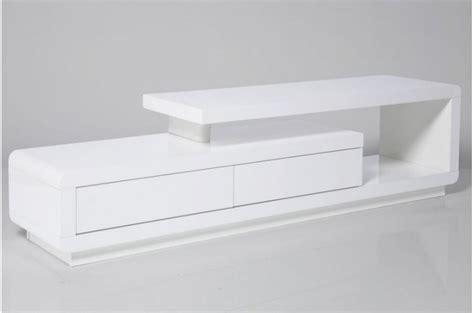 meuble tv bois blanc pas cher meuble tv blanc laqu 233 avec tiroirs meubles tv pas cher