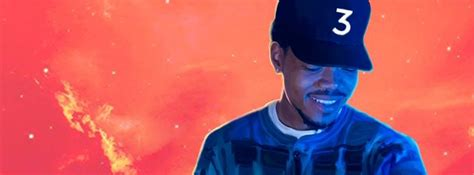coloring book chance the rapper album cover 1 million for chicago schools from chance the