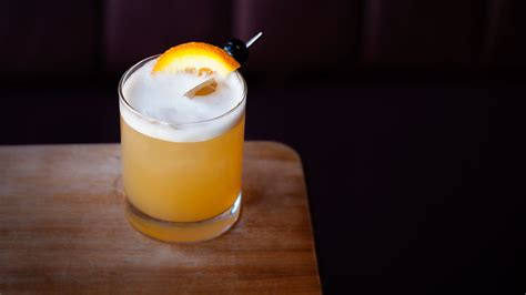 martini sour whiskey sour egg white simple syrup