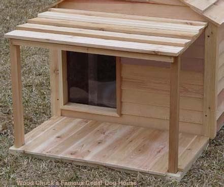 temperature controlled dog house godzilla cedar dog house