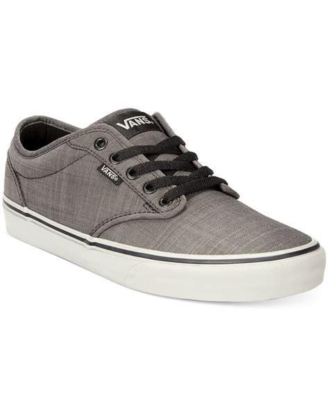 Jaket Vans Bb Blackgrey vans s atwood sneakers in gray for black grey lyst