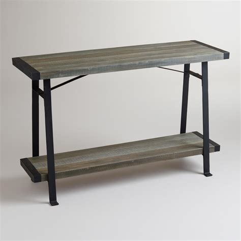 world market sofa table venice console table world market
