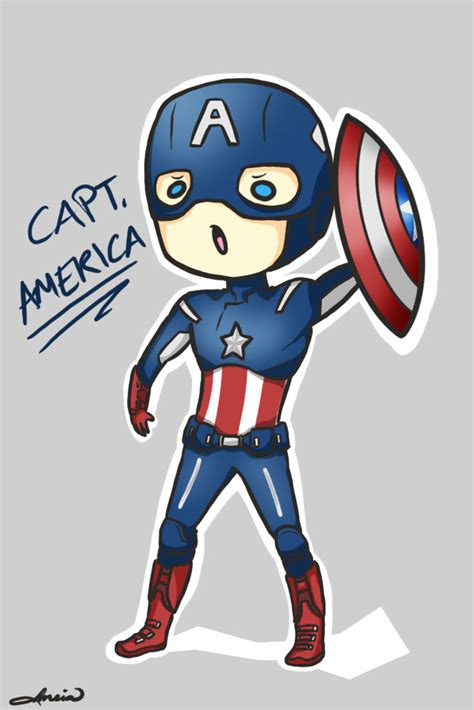 captain america chibi wallpaper chibi captain america by meia013 on deviantart