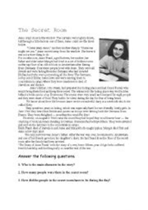 printable diary extracts english teaching worksheets anne frank 180 s diary