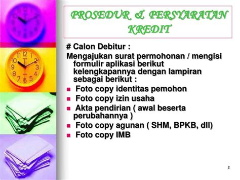 prosedur membuat imb ppt analisis kredit powerpoint presentation id 741906