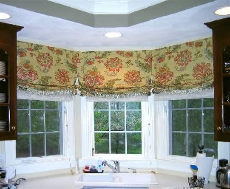 kitchen bay window curtain ideas pin by patricia danco on lake house pinterest