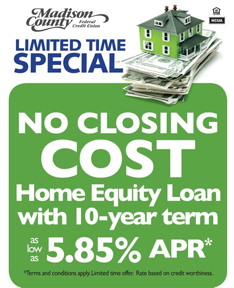 county federal credit union 187 limited time home