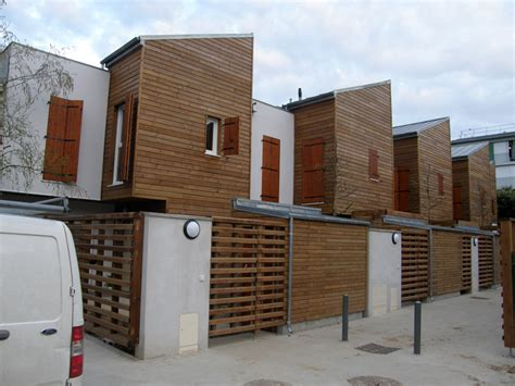 Bureau Et Maison by Maisons Et Bureaux En Ossature Et Bardage Bois