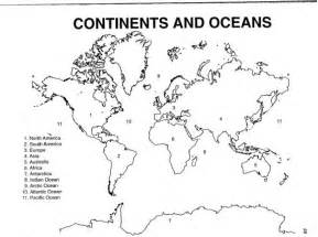 World Map Continent Outline by Blank World Map Continents Oceans School World Map Quiz And Continents