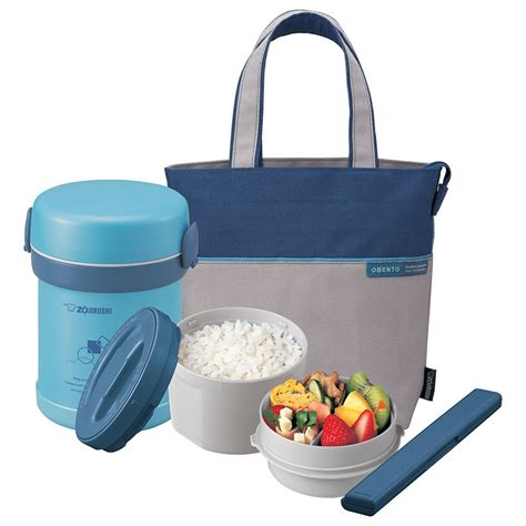 zojirushi stainless steel lunch jar with bag 0 64l sl