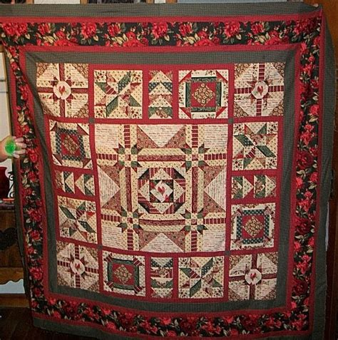 At Home With Country Quilts by Country Scrap Quilts Holidays At Home Bom Quilt Top