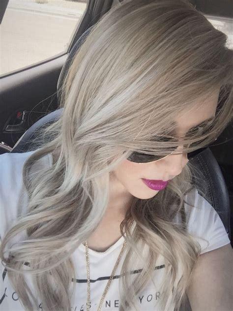 colores de tinte para cabello rubio m 225 s de 100 ideas para llevar el pelo rubio ceniza con