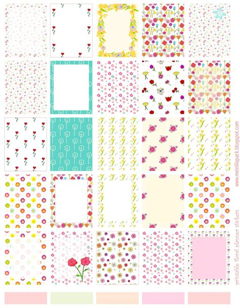 how to make printable planner stickers free printable floral planner stickers ausdruckbare