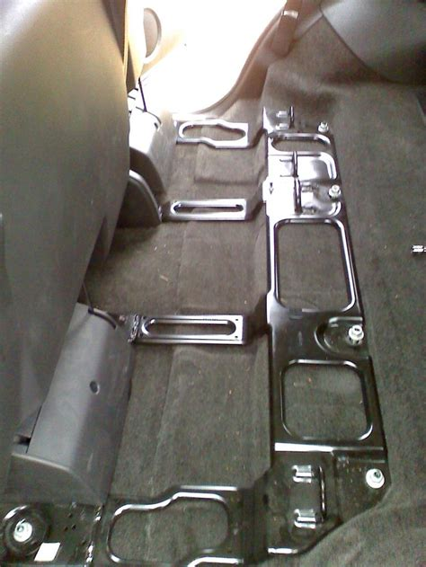suburban 2nd row bench seat complete cloth to leather swap bench to bucket seats in