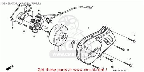 honda xr manual auto electrical wiring diagram