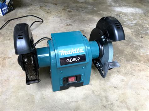 bench grinder makita makita bench grinder gb602 and accessories aud 49 00
