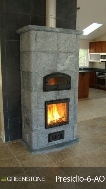 Soapstone Masonry Heater - presidio series greenstone soapstone masonry heaters