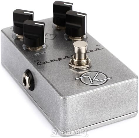 Keeley 4 Knob Compressor Review by Keeley 4 Knob Compressor Pedal Review By Sweetwater Insync