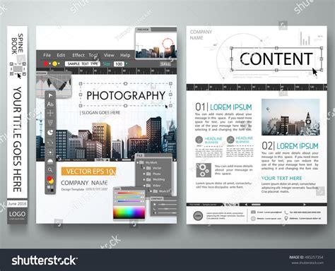 brochure design editor brochure design template vectorphotography editor