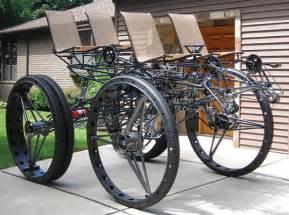 Wheels Truck Bike Bigdog The Car Crushing Diy Bicycle Truck