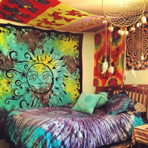 Trippy Bedrooms | hippie bedroom bedroom fantasies pinterest the 1960s