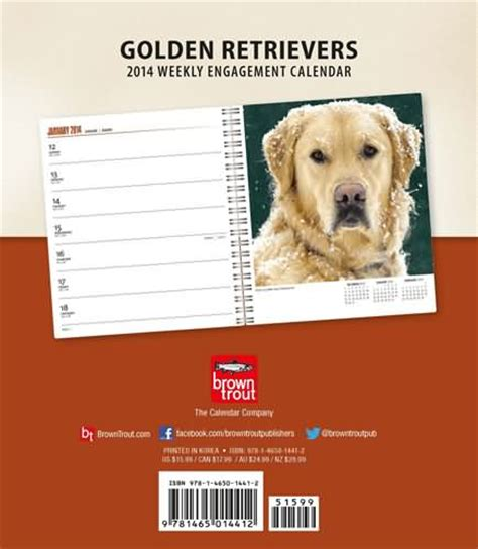 golden retriever weekly golden retriever gifts golden retriever calendars
