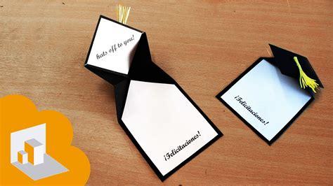 invitaciones para preescolar clausura con reciclado tarjeta para graduacion youtube